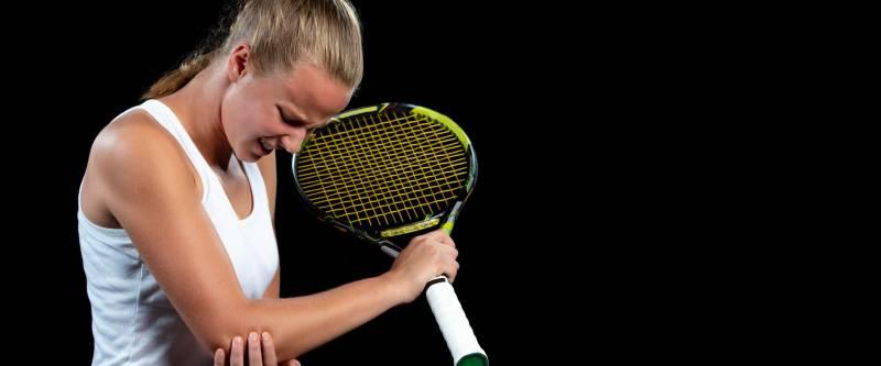 """Epicondilite o """"gomito del tennista"""""""
